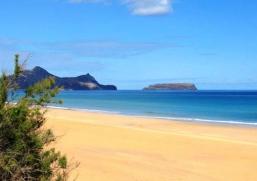 Areias terapêuticas de Porto Santo